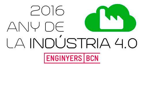 Col·legi d'ENGINYERS DE BARCELONA proposa un debat al voltant de la Indústria 4.0 i ha previst la celebració de taules de debat, jornades tècniques i conferències que se celebraran al llarg d'aquest 2016.